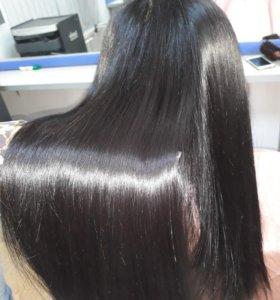 Кератиновое выпрямление волос.Нанопластика.БУСТ-АП