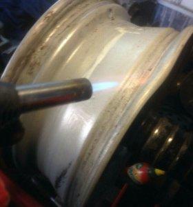 Прокатка литых и штампованных дисков