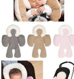 Вкладыш для новорожденного матрасик в автокресло