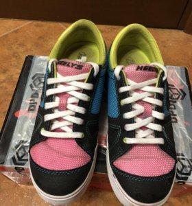 ❗️💣❗️Heelys Роликовые кроссовки и кеды 23см