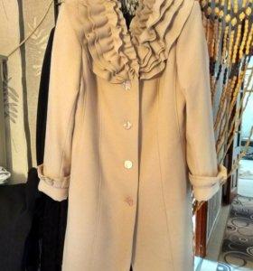 Пальто женское, кашемир