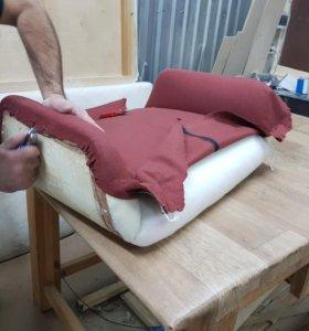 Перетяжка мебели, обивка, ремонт
