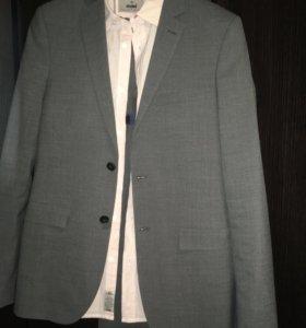 Костюм Marks&Spenser+рубашка Mavi