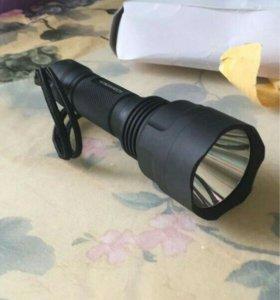 Мощный дальнобойный фонарь.
