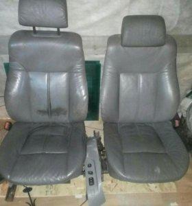 Передние сидения BMW 7 полный электропакет