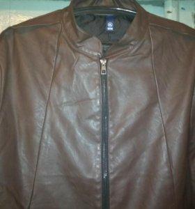 Куртка кож зам 4xl женская