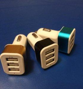 Usb зарядка в прикуриватель для телефонов