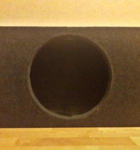 Короб для сабвуфера 15 дюймов