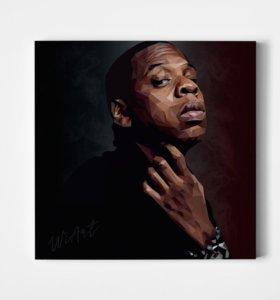 Холст #Jay ZZZ