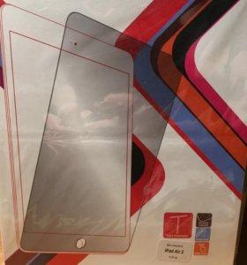 Защитное стекло на iPad Air, Air2, 2017
