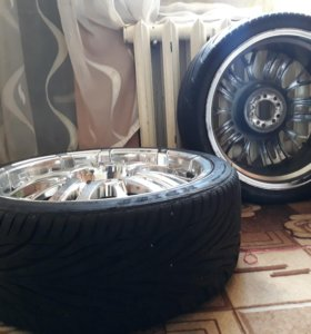 Комплект самых шикарных колес