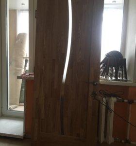 Дверь осиновая