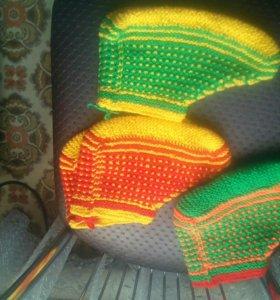 Вязанные носки/ следки