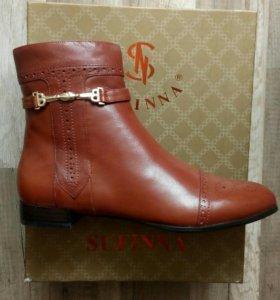 Ботинки кожаные новые