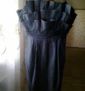 Платье р.М 44