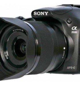 Зеркальная камера Sony Aplha A3500 Kit