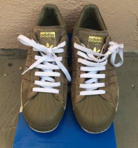 adidas Originals Superstar 80s Trainers in Green