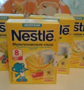 Каши Nestle(цена за 4 упаковки)
