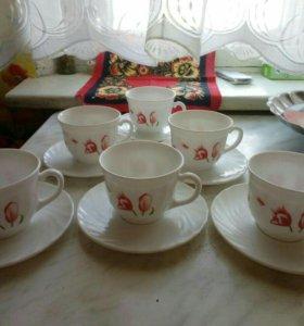 Чайный сервиз на 6 персон.