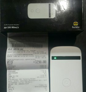 4G Wi-Fi Router Beeline (MF90+)