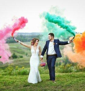 Цветной дым для фотосессий и праздников в Похвистн