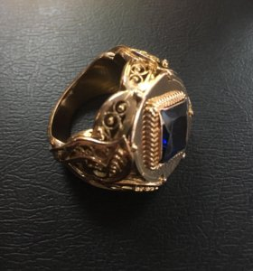 Перстень золото
