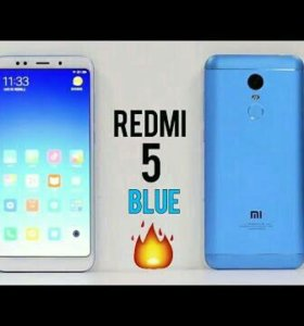 Xiaomi redmi 5 blue 2/16 Global version новые