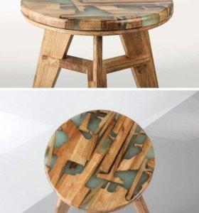 Старая деревянная мебель