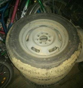 колеса на ваз