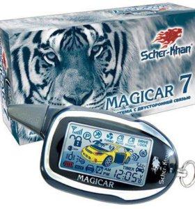 Scher-Khan Magicar 7 автосигнализация