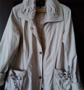 Куртка ветровка женская размер 48-50,плащевка