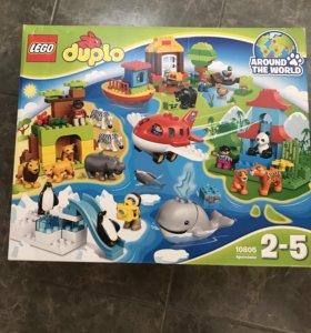 Конструктор новый LEGO duplo вокруг света.