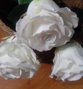 Розы из фоамирана ручной работы