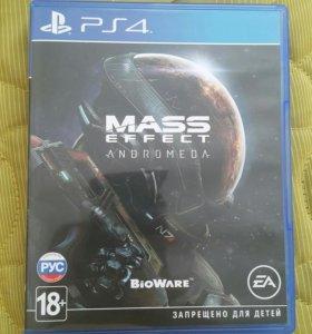Игра на PS4 Mass effect Andromeda