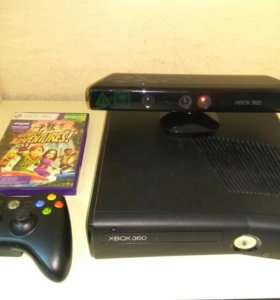 Xbox360 + кинект + 5 игр