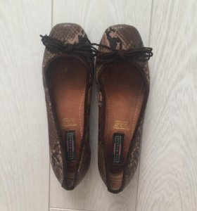 Балетки туфли на низком каблуке 5th avenue р.37