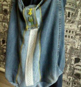 Сумки из джинсы ручной работы