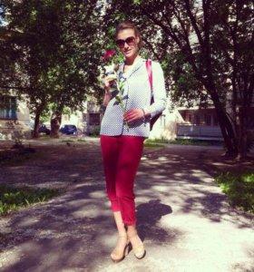 Блуза H&M в пижамном стиле