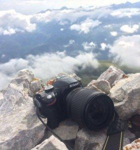 Nikon d3200 18-105mm