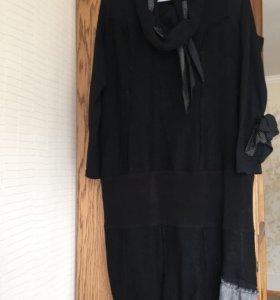 Платье р 50 шерстяное