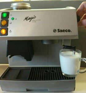 Кофемашина saeco magic