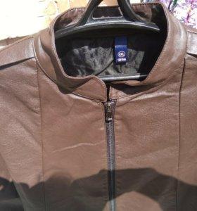 Куртка женская кож зам 4xl