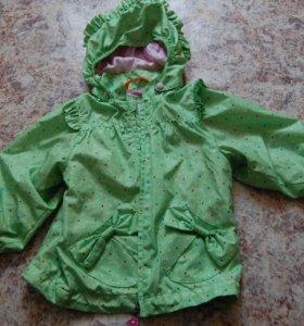 Куртка ветровка на девочку 3-4