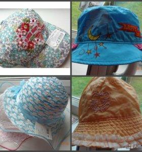 Новые  кепки, панамки