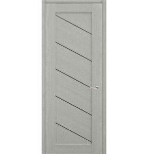 Дверной Блок (дверь+обналичка) Лиственница Какао