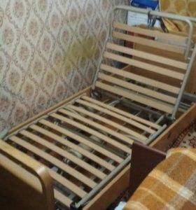 Медицинская кровать и противопролежневый матрас