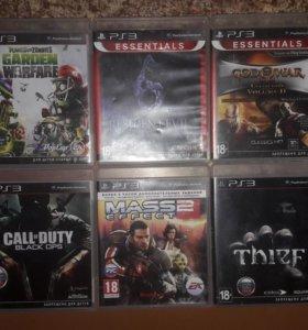 Игры SonyPlayst 3 (диски)