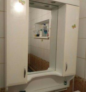 Шкафчик навесной в ванную