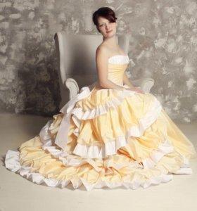 Свадебное платье 46
