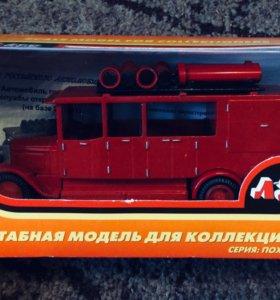 Коллекционная пожарная машина 🚒